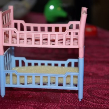 Bunks from the nursery playset.