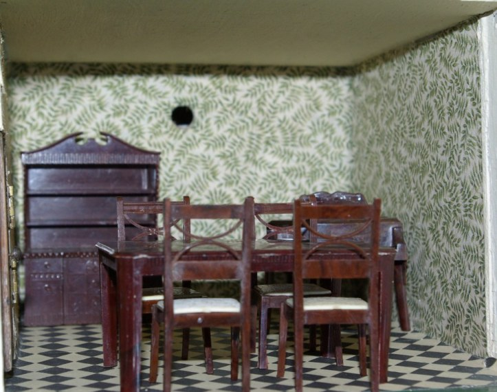 The Kleeware dining room