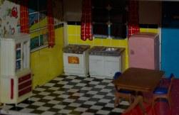 The kitchen .