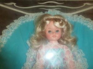 16 inch vinyl doll possibly by Reliable of Canada