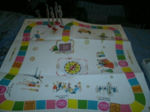 I Wish I Were game board