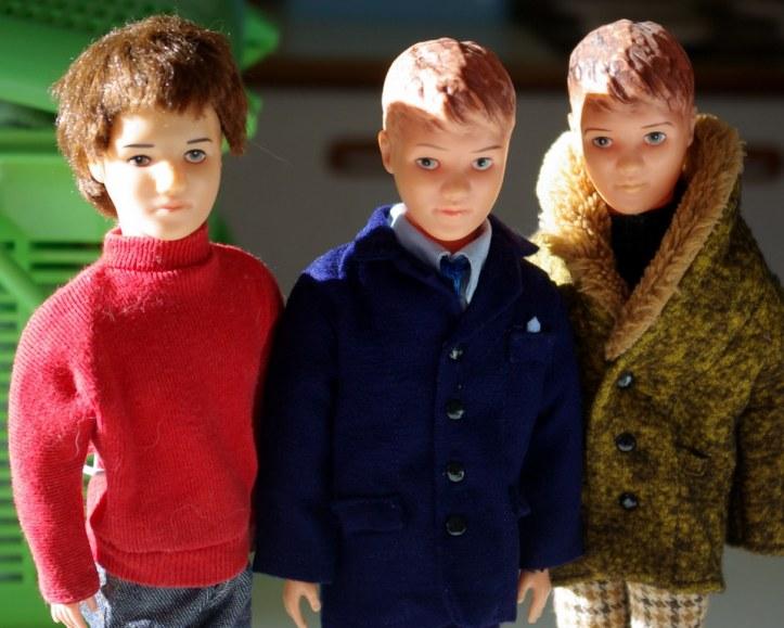 Pedigree Paul dolls.