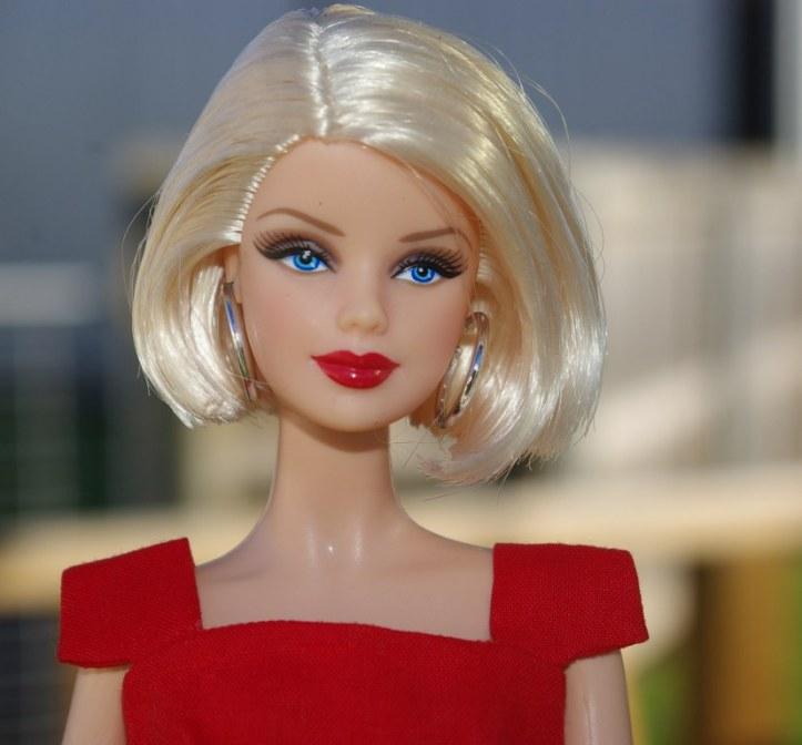 Sheath Sensation on Red Basics Barbie