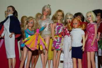 Some of the Mod era dolls.