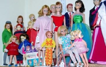 Repro dolls, vintage Barbie friends and children.
