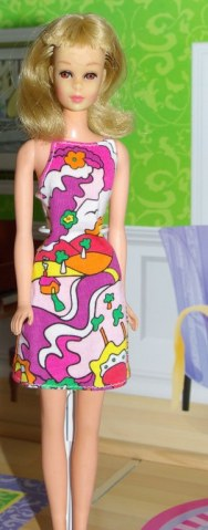 Naomi's Francie in a dress by Ellasdolls