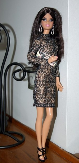 The Barbie Look City Shine brunette aka Margaret