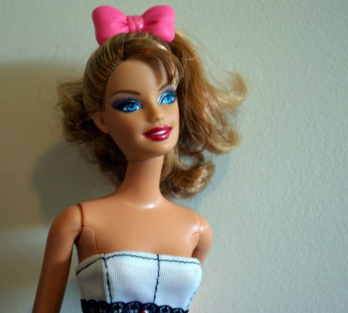 Swappin' Heads Fashionista Sweetie aka Sandy
