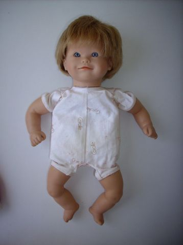 Corolle doll dated 1997 on tag