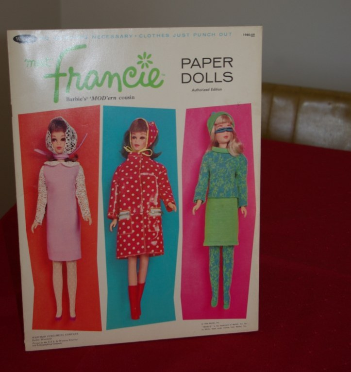 Francie Paper doll folder