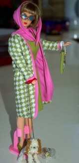 Reproduction American Girl Barbie in Poodle Parade.