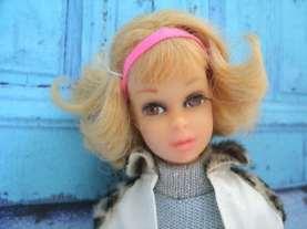 Francie with flip hair do. Photo by Naomi
