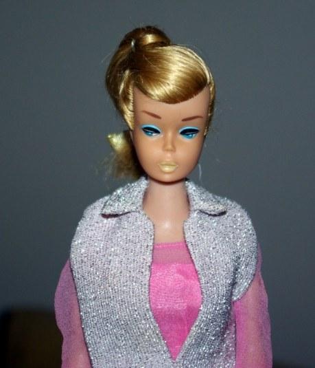 Ash Blonde Swirl Ponytail Barbie