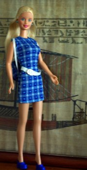 Fashion Wardrobe Barbie in Fashion Avenue Boutique Style from 1998.