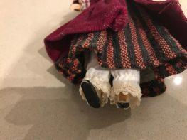 Faun doll feet