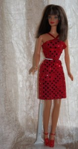 Bead Blast Barbie in Fashion Avenue Fashion