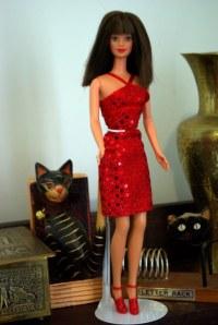 Angela in Fashion Avenue fashion