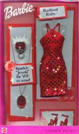 Radian Ruby, Jewel Sparkle Styles 2001
