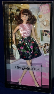 Barbie The Look Brunette 2016