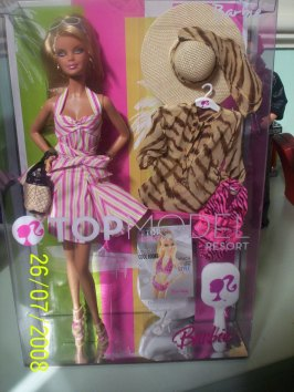 Barbie Top Model Resort NRFB