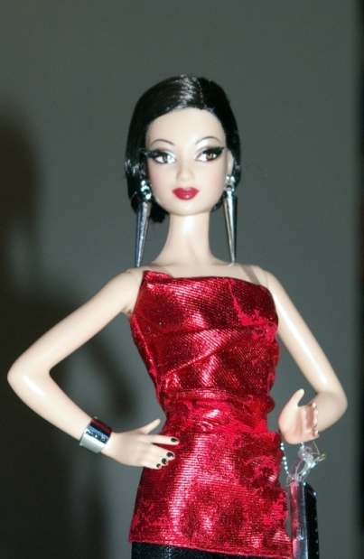 Barbie City Shine Red Dress 2015.