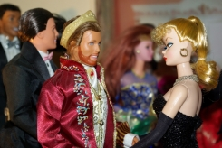 Barbie meets Prince Eric.