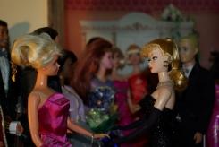 Lisa meets Barbie.