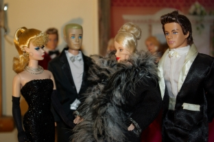 Barbie and Ken meet the Danish Princess.