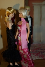 Vivienne in conversation with Barbie.