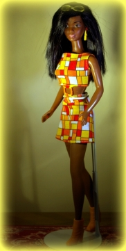 African American Hip 2 Be Square Barbie.