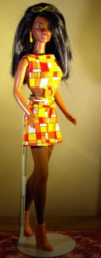 African American Hip 2 Be Square Barbie. in her original outfit.