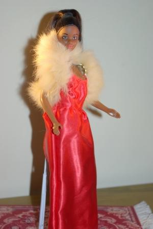 Pretty in Plaid African American Barbie.