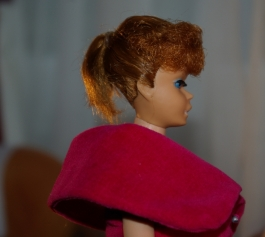 Barbie has had a trim.