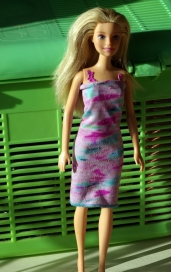 This Barbie had a molded on bodysuit so was probably a princess/fairy/ballerina.