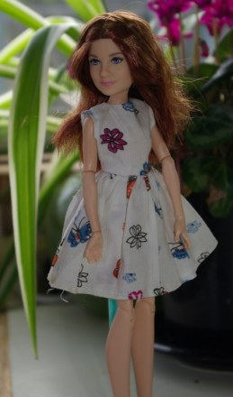 Ginny in summer dress