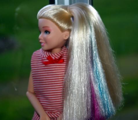 Jo Jo's rainbow hair