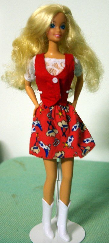 Barbie Superstar in Cool'n Casual fashion from 1997