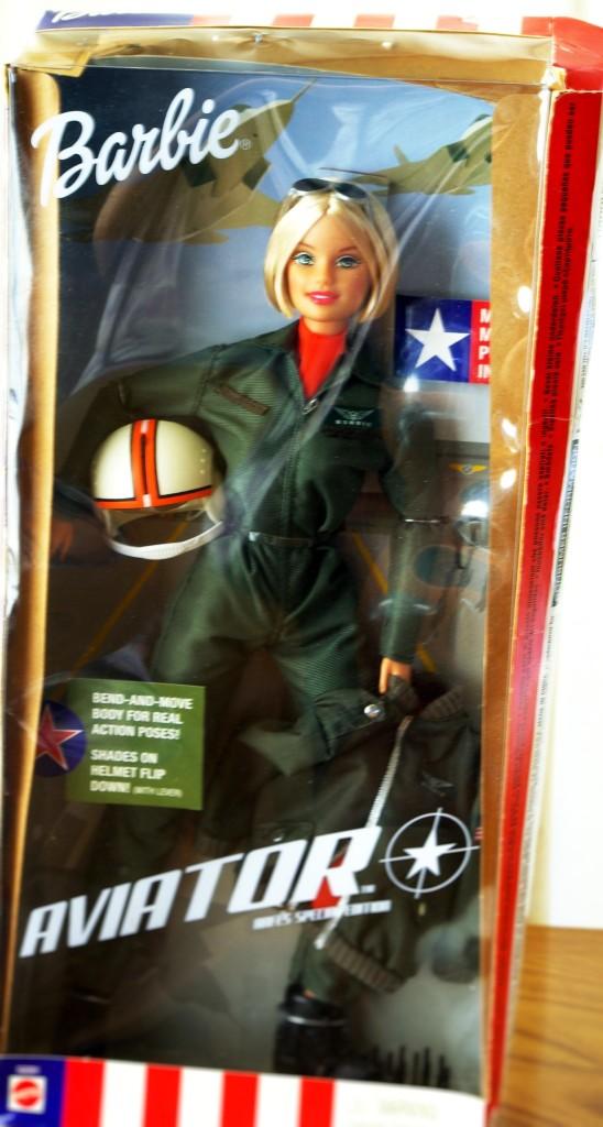 Aviator Barbie 2001